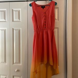 High-low ombré dress from target